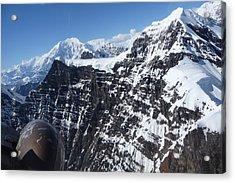 Flying Thru The Great Gorge Acrylic Print
