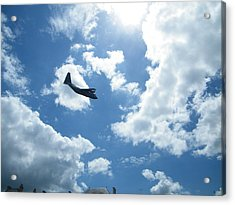 Flypast Acrylic Print