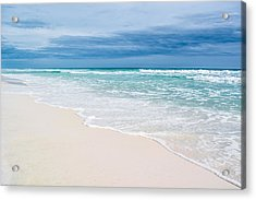 Foamy Waters Acrylic Print by Shelby Young
