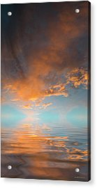 Focal Point Acrylic Print by Jerry McElroy