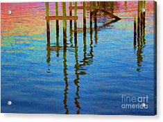 Focus On The Water Acrylic Print