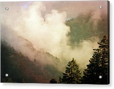 Fog Competes With Sun Acrylic Print