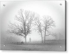 Fog Acrylic Print by EG Kight