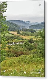 Acrylic Print featuring the photograph Fog In The Adirondacks by Sue Smith