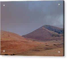 Fog In The Solano Hills Acrylic Print