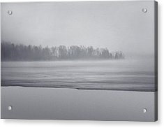Fog Light Acrylic Print