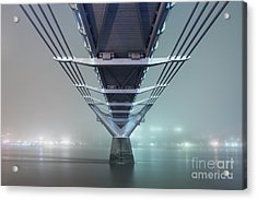 Fog - Millennium Bridge Acrylic Print