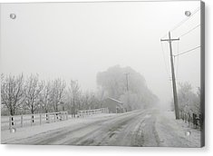 Fog On Floweree Dr Acrylic Print