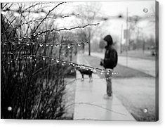 Fog Rain Acrylic Print