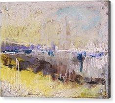 Fog Rising Acrylic Print by John Williams
