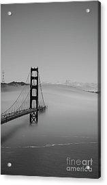Acrylic Print featuring the photograph Fogging The Bridge by David Bearden