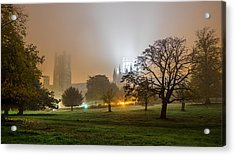 Foggy Cathedral Acrylic Print
