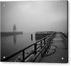 Foggy Charlevoix Acrylic Print