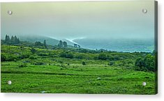 Acrylic Print featuring the photograph Foggy Day #g0 by Leif Sohlman