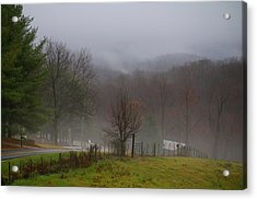 Foggy Day Acrylic Print