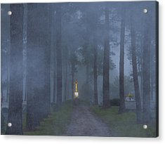 Foggy Hallowed Ground Acrylic Print