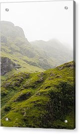 Acrylic Print featuring the photograph Foggy Highlands Morning by Christi Kraft