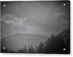 Foggy Hills Acrylic Print by Martin Newman