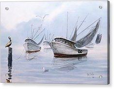 Foggy Morn' Acrylic Print