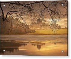Foggy Morning Acrylic Print by Gouzel -