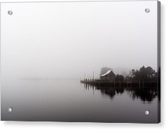 Foggy Morning Acrylic Print by Gregg Southard