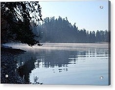 Acrylic Print featuring the photograph Foggy Morning by Sergey and Svetlana Nassyrov