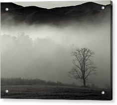 Foggy Mountain-tennessee Acrylic Print