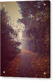 Foggy Acrylic Print