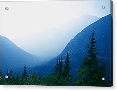 Acrylic Print featuring the photograph Foggy Valley by Jack G  Brauer