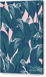 Foliage Acrylic Print by Elizabeth Tuck