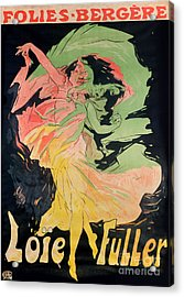 Folies Bergeres Acrylic Print by Jules Cheret