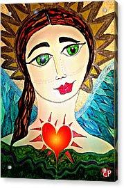 Folk Athena Acrylic Print