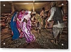Folk Dance Acrylic Print