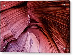 Acrylic Print featuring the photograph Follow The Curves by Stephen Holst