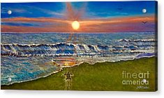 Follow The One True Light Acrylic Print