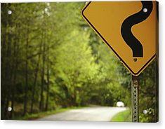 Follow The Sign Acrylic Print by Cendrine Marrouat