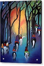 Following The Trail Of The Ancestors Acrylic Print