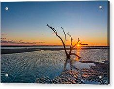 Folly Sunset Acrylic Print