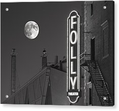 Folly Theatre Kansas City Acrylic Print by Don Spenner