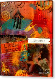 Fond Memories Acrylic Print by Angela L Walker