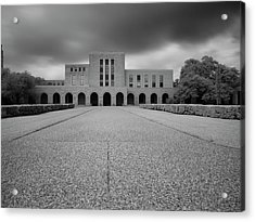Fondren Library  Acrylic Print by Joshua House