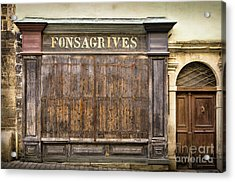 Fonsagrives In Saint-antonin-noble-val Acrylic Print by RicardMN Photography