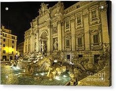 Fontana Di Trevi 1.0 Acrylic Print