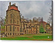 Acrylic Print featuring the photograph Fonthill Castle by William Jobes