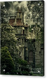 Fonthill With Storm Clouds Acrylic Print