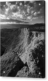 Font's Point Acrylic Print by Peter Tellone