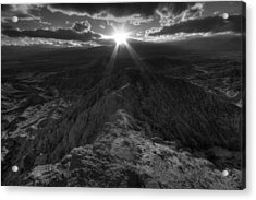 Font's Point Sunset Acrylic Print