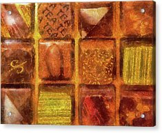 Food - Candy - Excellent Chocolates Acrylic Print by Mike Savad