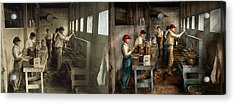 Food - Ice Cream - Sanitary Ice Cream Cones 1917 - Side By Side Acrylic Print by Mike Savad