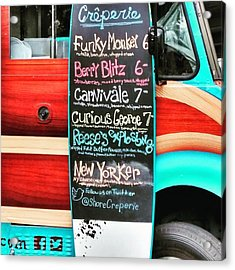 Funky Monkey Food Truck Acrylic Print